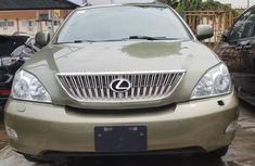 Very neat car Lexus RX 2008 Green color for sale