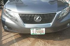Clean buy and drive Lexus RX 2012 Gray color for sale