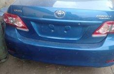 Tukunbor Toyota Corolla 2012