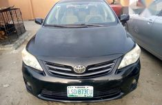 The engine is working well Toyota Corolla 2012 Black for sale