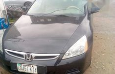 Extra clean Honda Accord 2007 Black color for sale