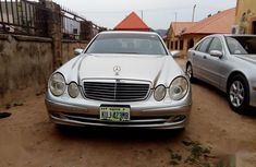 Mercedes-Benz E320 2005 Silver color for sale
