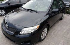 Toyota Corolla 2009 Petrol Automatic Black for sale