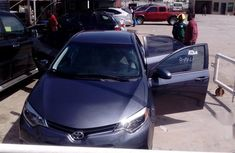 Exclusively clean Toyota Corolla 2014 Gray for sale