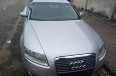 Very clean foreign used car Audi A6 2007 2.4 Silver color for sale