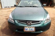 Selling 2004 Audi Accord sedan in good condition at price ₦830,000
