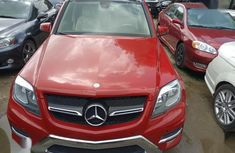 Mercedes-Benz GLK-Class 2013 350 4MATIC Red color for sale