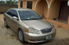 Used grey/silver 2005 Aston Martin Corolla automatic for sale at price ₦1,300,000