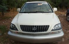 Lexus RX 2001 White for sale