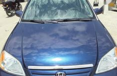 Foreign used  Honda Civic 2001 Blue for sale