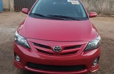 Newly imported  Toyota Corolla 2011 Red color for sale
