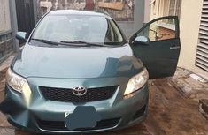 Toyota Corolla 2009 2.0 d-4d exclusive Green color for sale