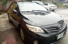 Toyota Corolla 2012 S Manual Black for sale