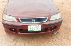 Honda Civic 1998 in good condition Red color for sale