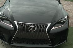 Lexus IS 2016 Black for sale