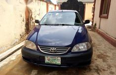 Toyota Avensis 2002 2.0 D Verso Blue  for sale