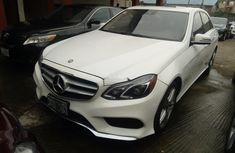 Mercedes-Benz E350 2013 Petrol Automatic White for sale