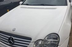 Mercedes-Benz C230 2003 White for sale