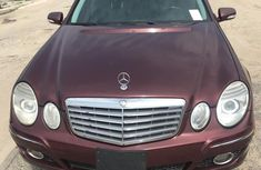 Foreign Used Mercedes-Benz E350 2008 red color for sale