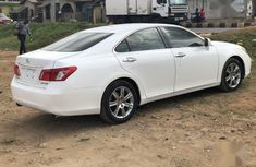 Accident free Lexus ES 2007 White color for sale
