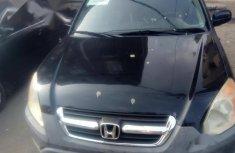 Honda CR-V 2002 EX 4WD Automatic Blackfor sale