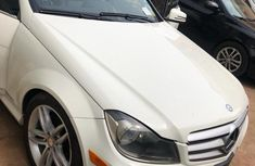 Clean ready to drive Mercedes-Benz C300 2012 White color for sale
