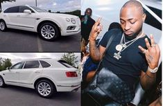New whip? Davido shows off a McLaren 570S, Duncan Mighty comments