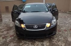 Full option Lexus GS 2008 Black color for sale
