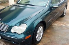 Mercedes-Benz C240 2004 Green  color for sale