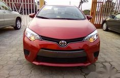 Toyota Corolla 2015 super clean engine Red color for sale