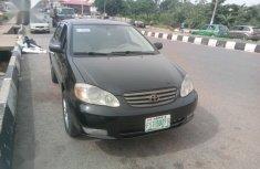 Toyota Corolla 2003 Sedan Automatic Black for sale