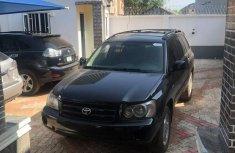 Toyota Highlander 2003 in good condition Black color for sale