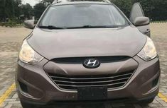 Grey 2011 Hyundai Tucson car automatic at attractive price in Lagos