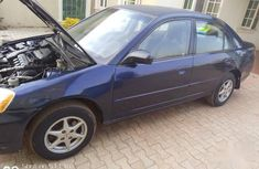 Honda Civic 2003 clean interior with good engine Blue  color for sale
