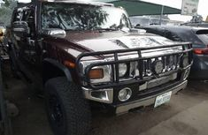 Almost brand new Hummer H2 Petrol for sale