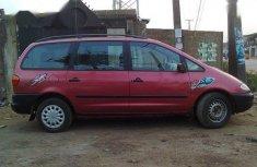 Clean Registered Volkswagen Sharan 1998 Red color for sale