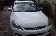 Sell cheap white 2007 Audi Accord automatic