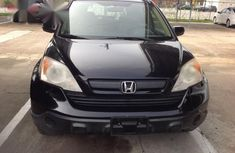 Honda CR-V EX 4WD Automatic 2007 Black for sale