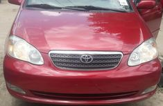 Very clean Foreign used Toyota Corolla 2007 LE Red color for sale