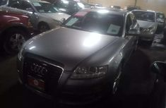 Sell grey/silver 2009 Audi A6 automatic at price ₦2,760,000 in Lagos