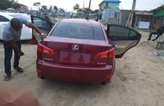 Very clean Tokunbo Lexus IS 2007 Red color for sale