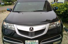 Brown leather seats  Acura MDX 2011 Black color for sale