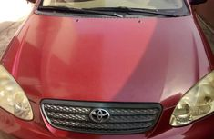 Toyota Corolla 2008 1.8 CE Red color for sale
