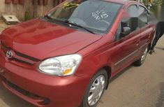 Toyota Echo 2004 Red for sale