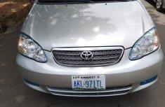 Fresh tokunbo  Toyota Corolla 2004 Sedan Silver color for sale