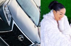 Nollywood actress Christabel Egbenya gifts herself luxurious Lexus UX car