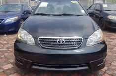 Toyota Corolla Sport (black) 2006 Model