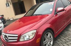 Mercedes-Benz C350 2010 Red for sale