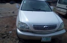 Its buy and drive Lexus RX 2003 White color for sale