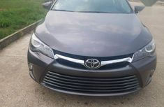 Toyota Camry 2017 excellent engine Gray color for sale